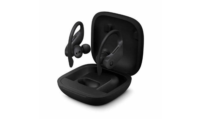 Beats Powerbeats Pro Charging Case is about three to four times larger than the case of the standard AirPods. While not heavy, it's also not very pocket portable. The case also doesn't have wireless charging capabilities.