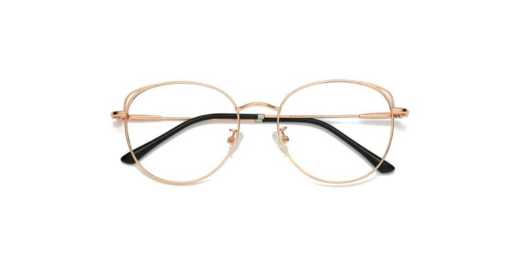 If the others weren't lightweight enough, try SOJOS. Their metal frame are so lightweight, a lot of reviews say they even forget they're wearing glasses!