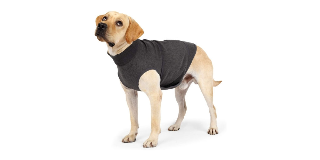 You slip this super comfortable jacket on to your fur baby and let the jacket do the rest. It will help with their fear of fireworks, those pesky thunderstorms and even the uncomfortable car rides.