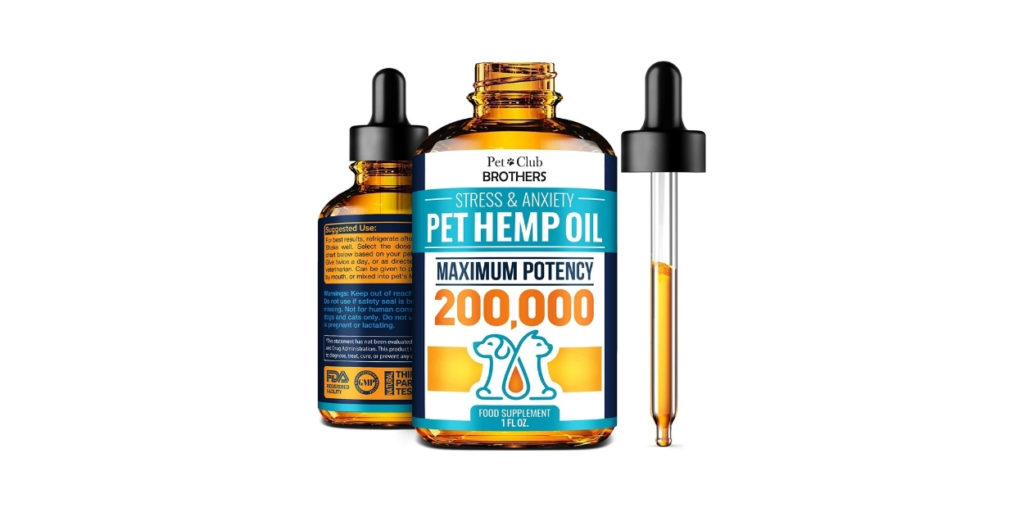 This Pet Hemp Oil helps with traveling issues, like if your pet cries or hides in the car. Oh, and did I mention this improves their joint health and immune system?