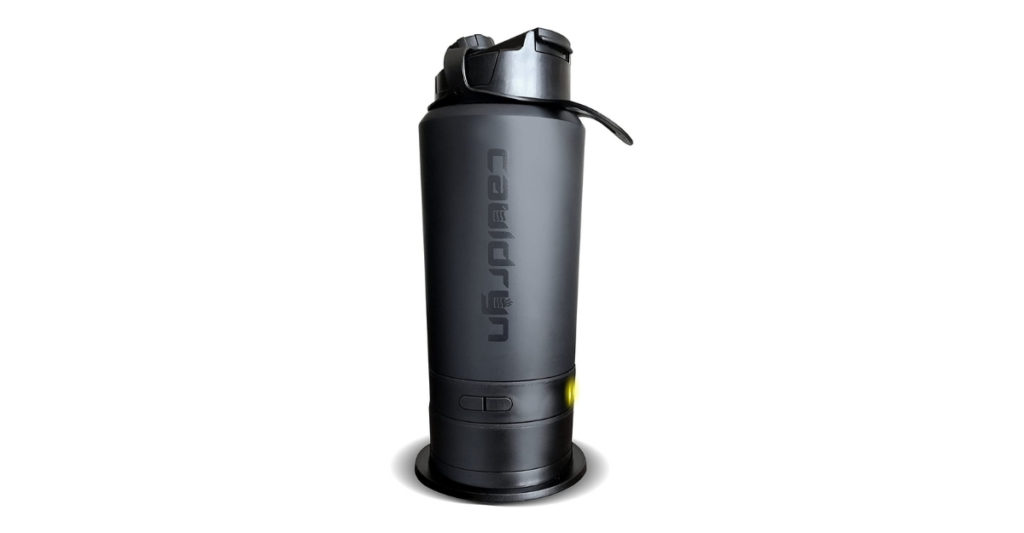 The Cauldryn Fyre Mobile is your new best friend. It's durable, lightweight, and most importantly, HOT. With four different temperature settings (boil, brew, extra hot, hot), you can do a lot more with this one than drink coffee.