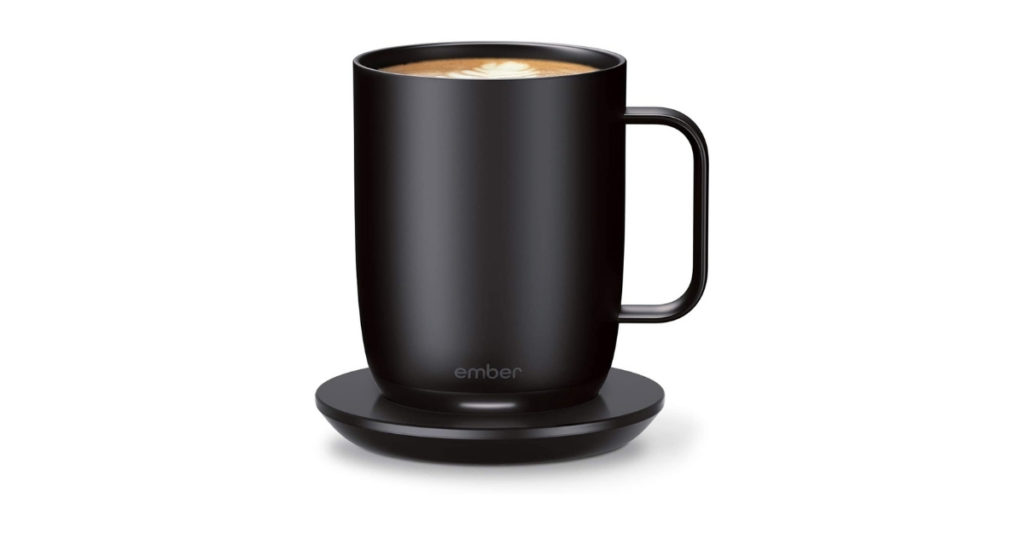The Ember SmartMug does more than keep your coffee hot, it maintains the temperature of the coffee to your preference all day so you can work at ease without worrying about the rapidly cooling coffee on your desk.