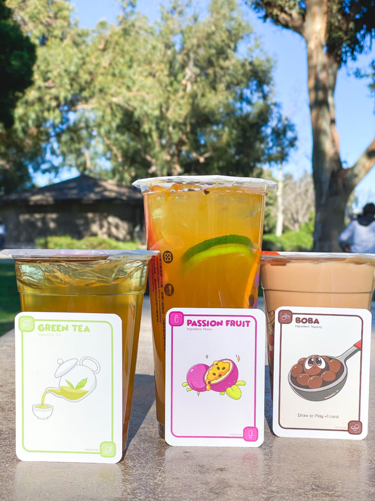 Someone's brought Boba Milk Tea to the party, this sweet decadent of a treat that's taking North America by storm is now making its way into living rooms. Boba shops are popping up like the next Starbucks on the block, and now it's coming in the form of a Card Game.