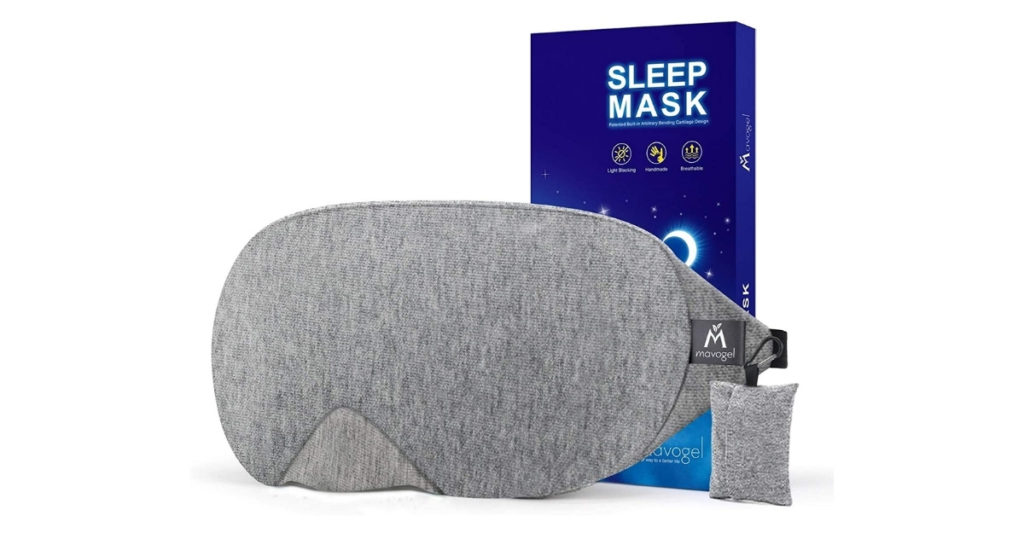 And yeah, that flimsy eye mask that you got from the dollar store may work, but not as well as the Mavodel Cotton Sleep Eye Mask. Because of the fabric and design that is used, it feels like your eyes are surrounded by little clouds.