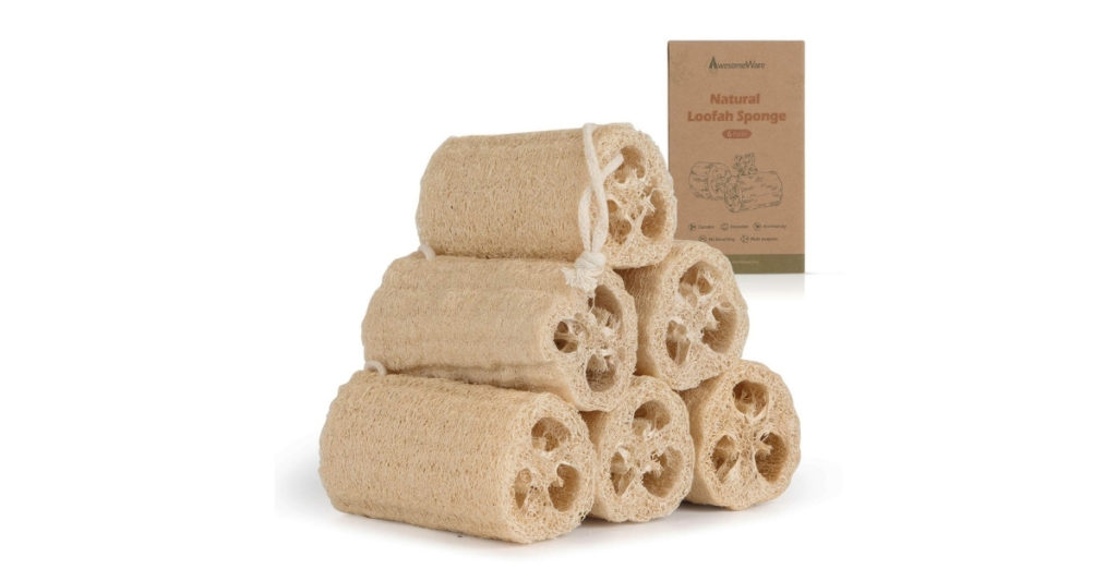 Loofah, or luffa (Luffa aegyptiaca), is a large gourd that, when dried, has a fibrous texture that is perfect for scrubbing. It also makes a perfect companion to your eco-friendly soap bar.