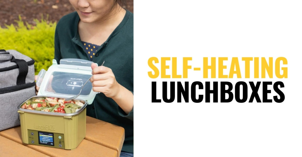 A Couple Self-Heating Lunchboxes That Bring Back The Taste Of Dinner