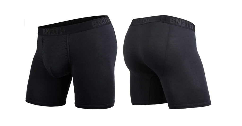 Their Classic Boxer Brief is their lightest option, and is made from TENCEL modal. TENCEL is made from wood fibres, but it is so freaking soft it makes cotton feel wooden. It's also a highly breathable underwear, which is why it's great for runners, cyclists, hikers or any activity that works up a sweat, even if that's a quick jog to the fridge.