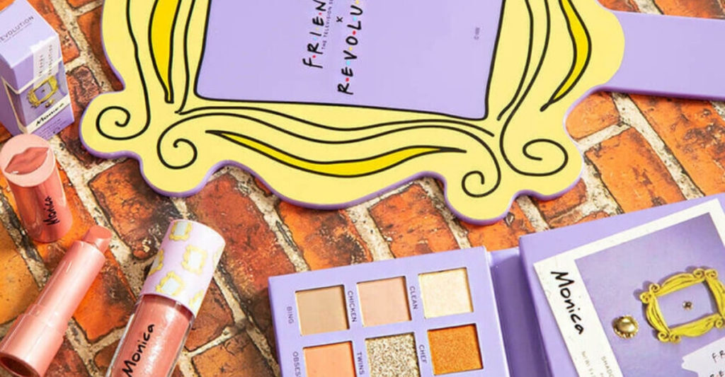 Revolution debuted a Friends-inspired collection of cruelty free and vegan makeup complete with eyeshadow (there's even a palette called We Were On A Break), lipstick for men (true Friends fans will understand this), lip glosses, and even a Central Perk makeup bag.