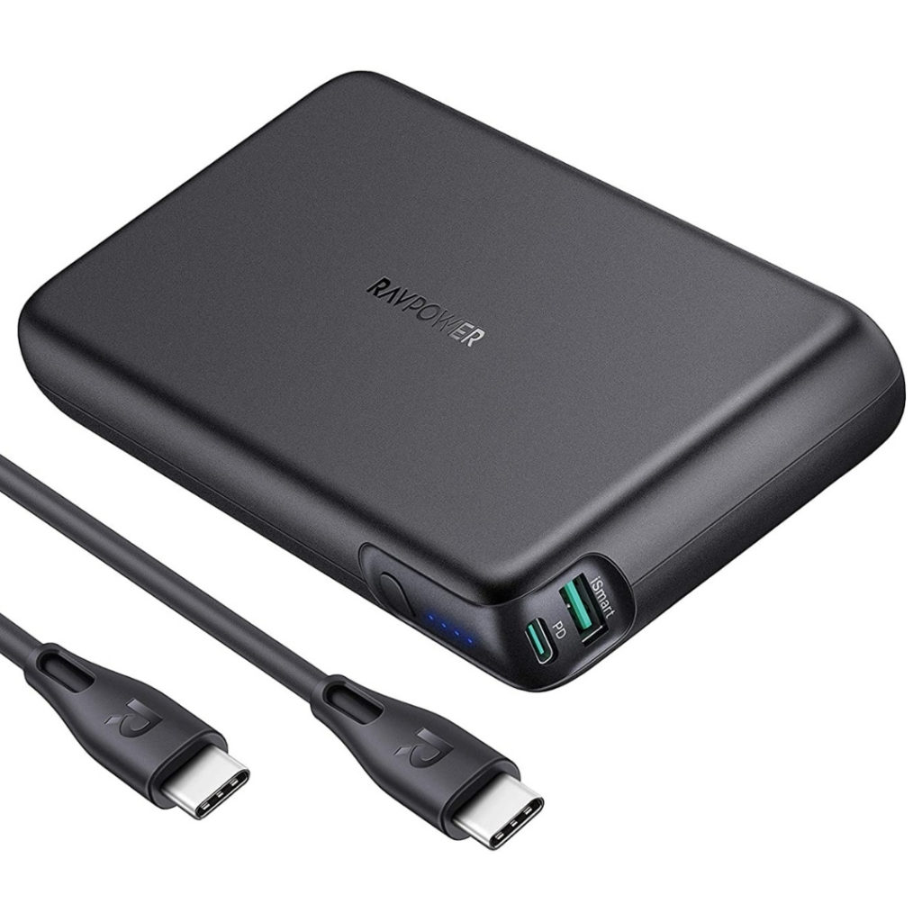 Overall, the RAVPower 90W Power Bank is loaded with power, and it's compatible with multiple laptops. If you're chilling with your buddies who all have different devices, then this power bank may just make you the MVP.