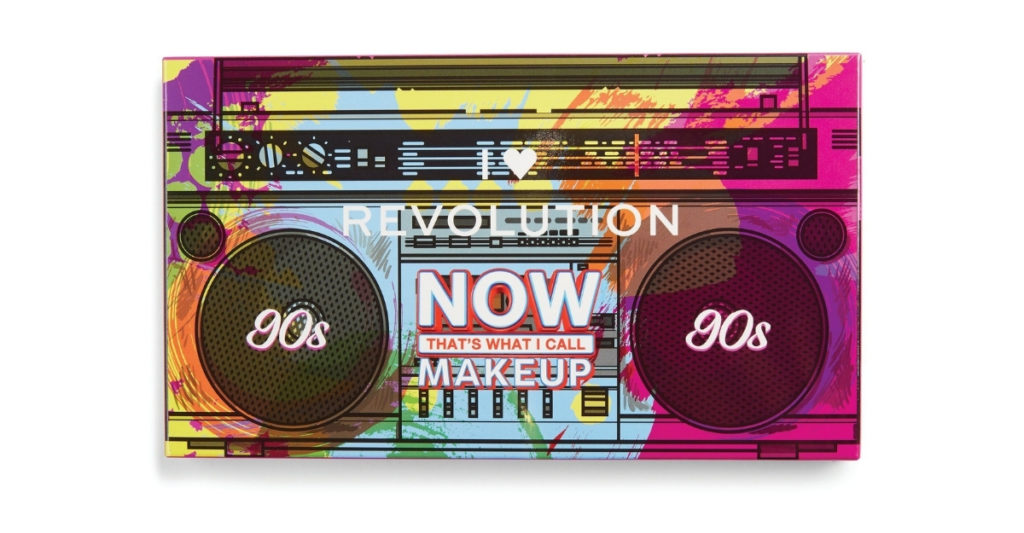 Now, you don't get to just rock out to NOW's CDs, but you can rock out to their CDs while rocking their  eyeshadows in collaboration with Revolution. It's a great palette for smokey eyes, especially when paired with a Walkman, Gameboy, or scrunchies.