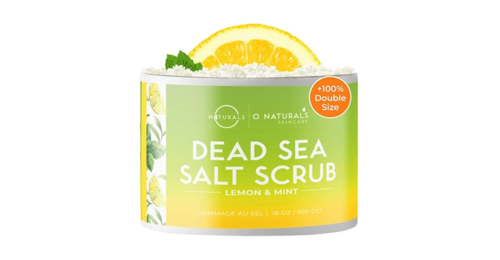 Slap some Dead Sea Salt Scrub on that baby and treat it right. This product is best used after soaking your skin for a moment to make it easier when you scrape away all of that dead skin.